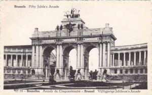 Belgium Brussels Arcade du cinquantenaire