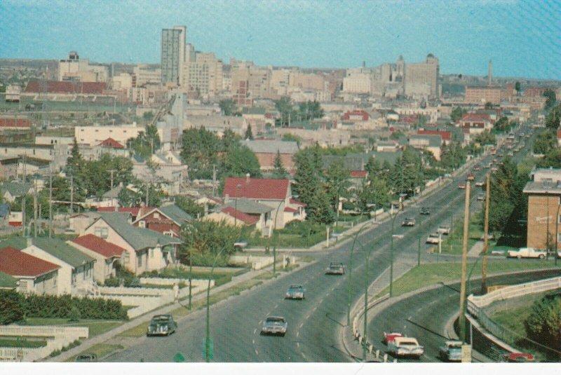 CALGARY , Alberta , Canada , 1950-60s ; Skyline