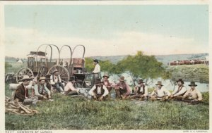Cowboys at Lunch, 1900-10s