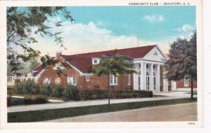 BEAUFORT , South Carolina , 1910s ; Community Club