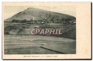 Africa - Africa - Madagascar - Betsileo - Rizieres has Imady - Old Postcard