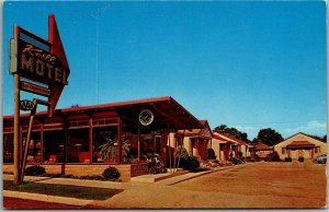 Cedar City, Utah Postcard KNELL MOTEL Highway 91 Roadside c1960s Unused