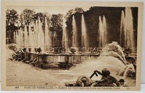 Versailles Nassin of de Neptune Vintage Postcard A1