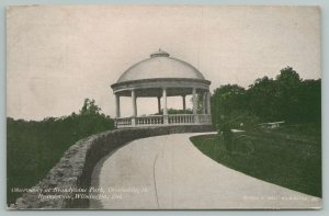 Wilmington DE~Observatory Brandywine Park~c1910 Postcard