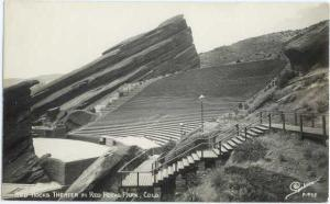 RP Red Rocks Theatre in Red Rocks Park Colorado CO Sanborn