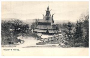 Norway Bergen   Fantoft Kirke
