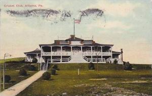 Pennsylvania Altoona Cricket Club 1910