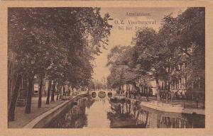 Bridge, O. Z. Voorburgwal Bij Het Stadhuis, Amsterdam (North Holland), Nether...