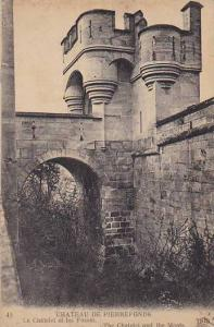 France Pierrefonds Le Chateau Le Chatelet et les Fosses 1922