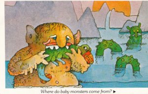 Where do baby monsters come from? , 1960-70s