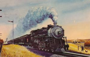 Katy Railroad Texas Special from Painting by Howard Fogg - pm 1969