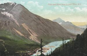 Field & River From Lower Trail, British Columbia, Canada, 1900-1910s