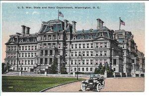 Washington, DC - US War, State and Navy Department
