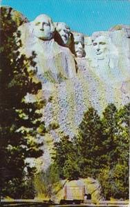Mount Rushmore Memorial Shrine Of Democracy Black Hills South Dakota 1964