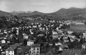 Switzerland Lugano Paradiso Panorama General view Postcard