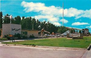 Alamogordo New Mexico~Chamber of Commerce~Pioneer Spaceport~1968 Postcard