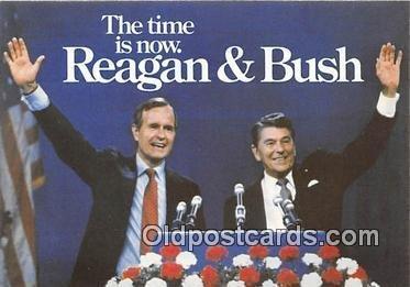 Reagan & Bush Unused