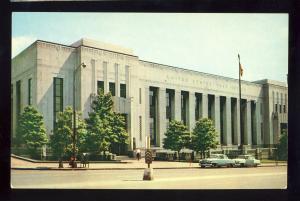 Nashville, Tennessee/TN Postcard, US Post Office, 1950's Cars
