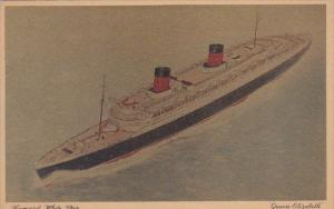 Cunard White Star Queen Elizabeth