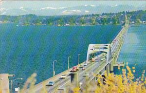 Lake Washington Floating Bridge Seattle Washington