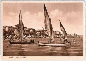 CARTOLINA d'Epoca - RIMINI provincia : Viserba 1948