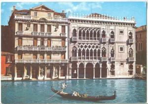 Italy, VENEZIA, Venice, Ca d'Oro, 1960s-70s unused Postcard