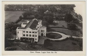 Nigeria; Government House, Lagos, From The Air RP PPC From CMS Bookshop, Unused