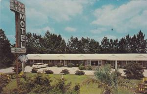 Exterior View of PIne View Motel and Restaurant, Effingham, South Carolina, 4...