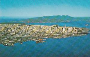 California San Francisco Aerial View