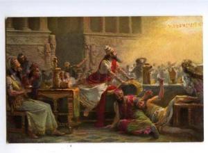 149816 Belshazzar by LEINWEBER vintage color PC