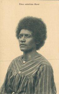 Papua New Guinea Eleve catechiste (Roro)  Native Afro 06.06