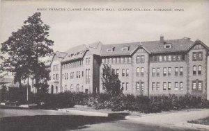 Iowa Dubuque Mary Francis Clarke Residence Hall Clarke College Artvue
