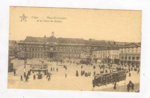 Place St-Lambert Et Le Palais De Justice, Liège, Belgium, 1900-1910s