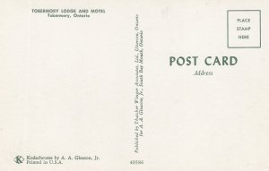 TOBERMORY, Ontario, Canada, 1940-60s ; Lodge & Motel