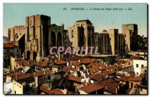 Avignon - The Popes' Palace - Old Postcard