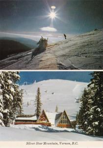 Canada Vernon Silver Star Mountain Ski Slope and Lodge