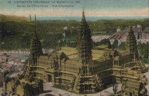 CPA Marseille (Dep.13) Exposition Coloniale 1922 - Palais de l'Indo-Chine (7890)