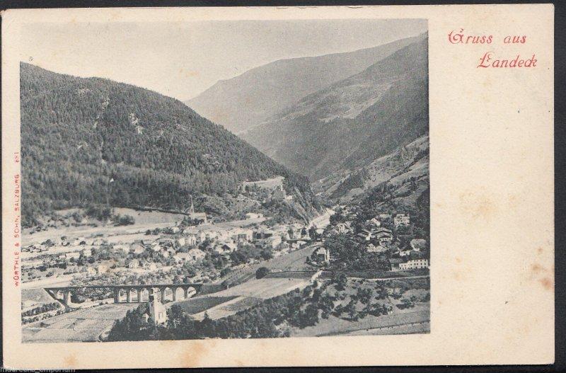 Austria Postcard - Gruss Aus Landeck   B779