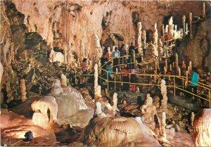 Romania Chiscau Bihor bears cave interior postcard pestera ursilor