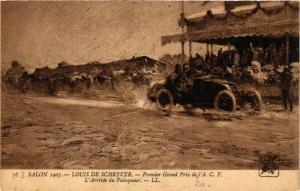 CPA Salon 1907 LOUIS DE SCHRYVER Premier Grand Prix de l'A.C.F. (707636)