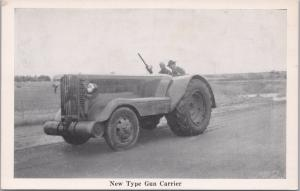 Military, WWI, New Type of Gun Carrier-Bloom Brothers