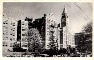 Washington Seattle Providence Hospital 1949 Real Photo