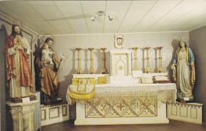 Interior,   San Miguel Church,  Sante Fe,  New Mexico,   40-60s
