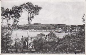 ROTHESAY, Scotland, PU-1934 , View from Skeoch Wood