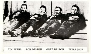 KS - Coffeyville. Deceased Members of the Dalton Gang, October 5, 1892. (Repro))