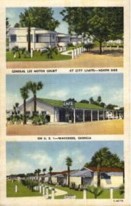 General Lee Motor Court Waycross GA Unused