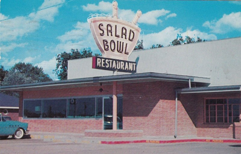 Arkansas Walnut Ridge The Salad Bowl Restaurant & Gift Shop 1957 sk670