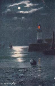 The Lighthouse , NEWLYN , UK , 1900-10s ; TUCK