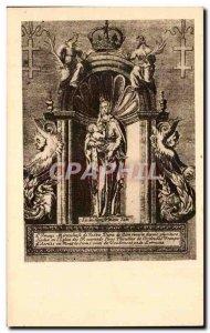 Old Postcard Collection Artistque Virgin of Zion