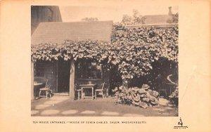 Tea House Entrance in Salem, Massachusetts House of Seven Gables.